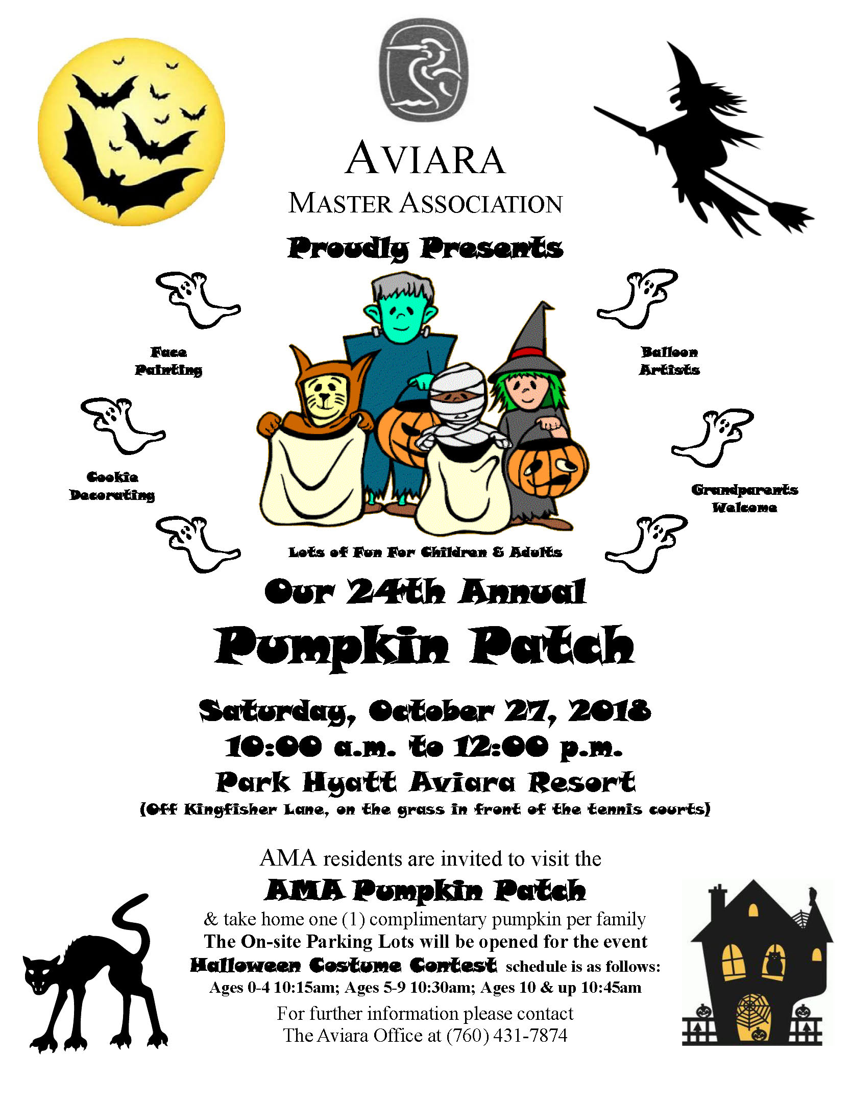 24th Annual Pumpkin Patch Flyer