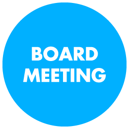 Rescheduled December Board Meeting
